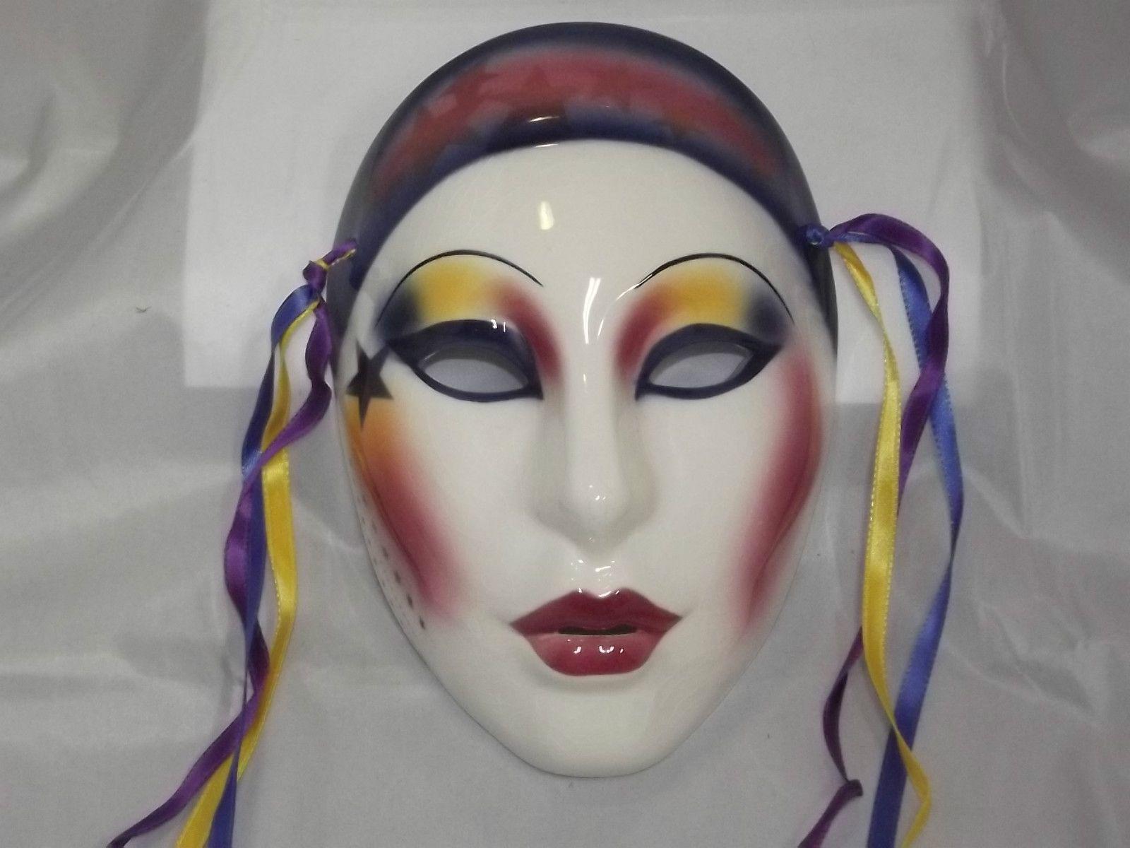 Clay art Mask San Francisco Co. Haleys Comet Masks