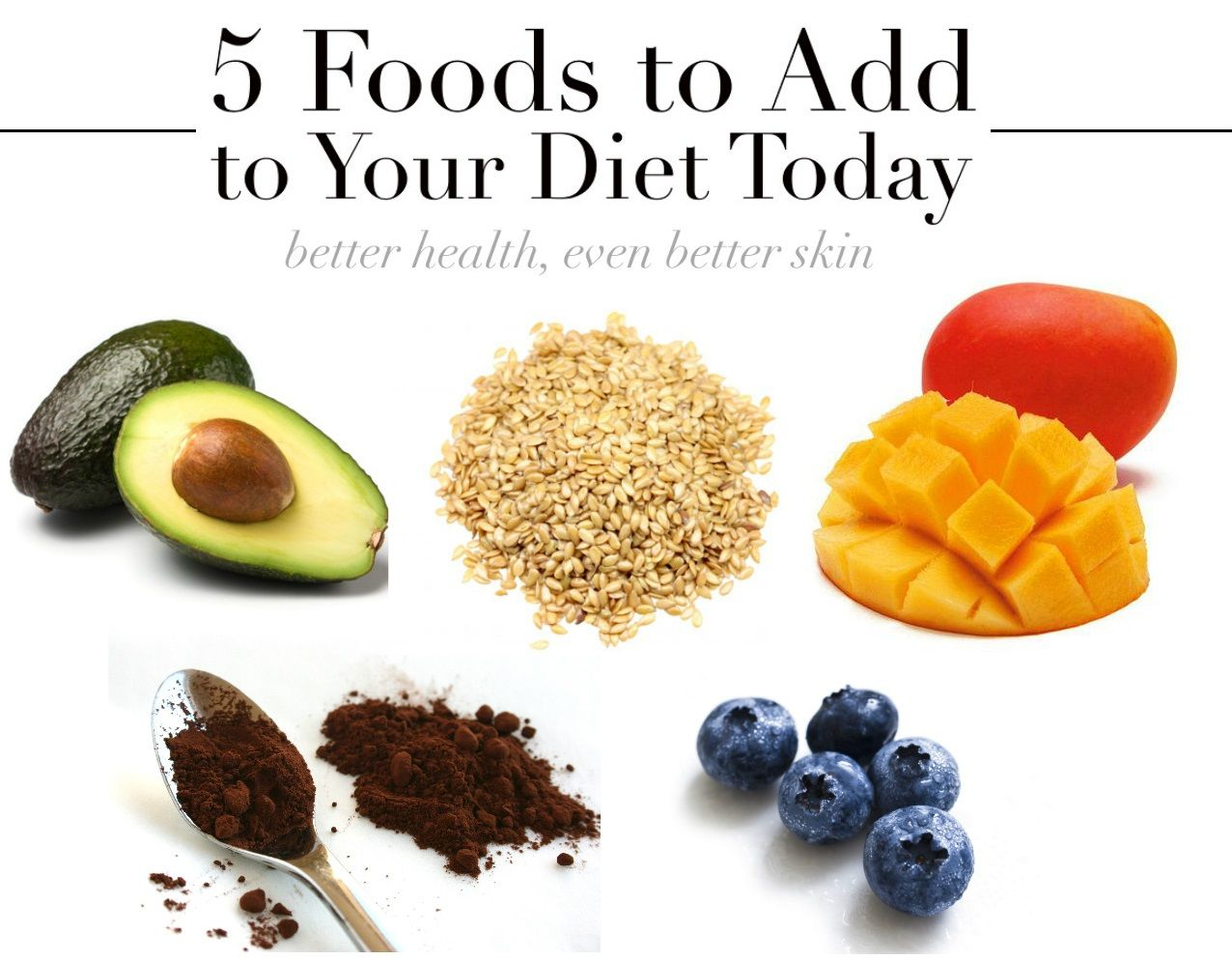 5 Delicious Foods For Beautiful Skin Foods For Healthy Skin Nutrition Recipes Best Foods For Skin