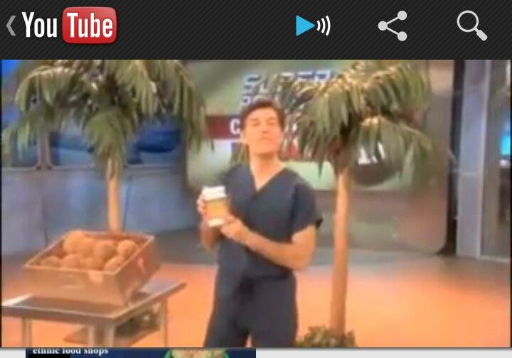 Awesome Benefits! Check out Dr. Oz on Coconut Oil... Part 1: https://www.youtube.com/watch?v=o1gWumdoiek=youtube_gdata_player Part 2: https://www.youtube.com/watch?v=9QzTZDiB900=youtube_gdata_player