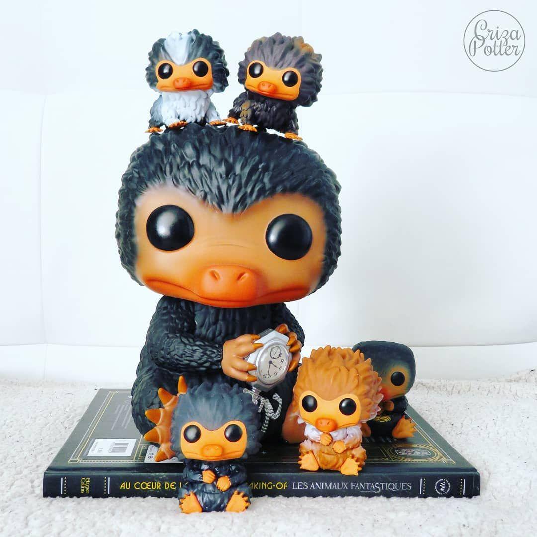 La Famille Niffleur Fantasticbeats Harry Potter Funko Pop Harry Potter Funko Funko Pop Toys