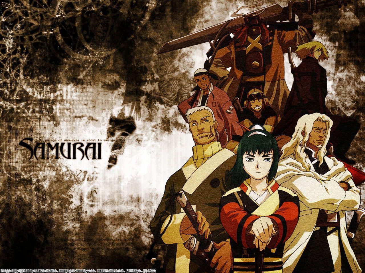 Samurai 7. Kyuzo is my favorite. Awesome anime, Anime shows