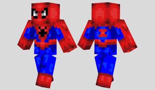 Spiderman Skin para Minecraft