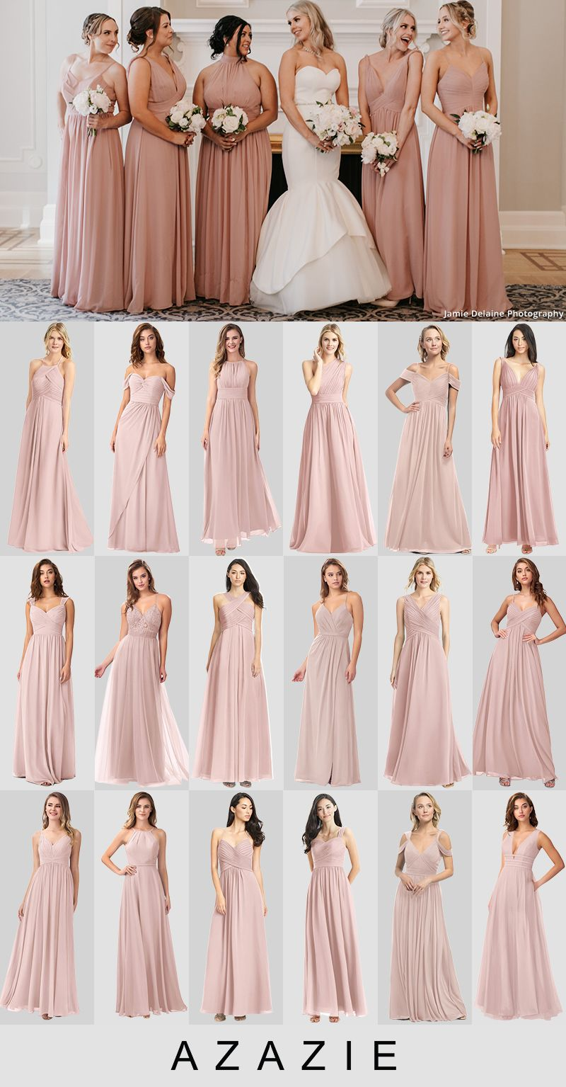 Dusty Rose Bridesmaid Dresses At Affordable Prices In 2020 Dusty Rose Bridesmaid Dresses Long Dusty Rose Bridesmaid Dresses Rose Bridesmaid Dresses