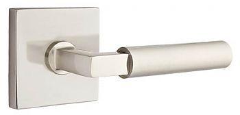 Emtek Hercules Dummy Door Leverset From The Modern Brass Collection With  Satin Brass Leverset Dummy Set