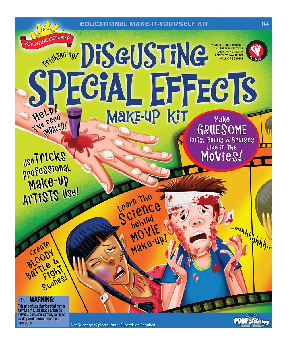 Disgusting Special Effects Makeup Kit Special effects