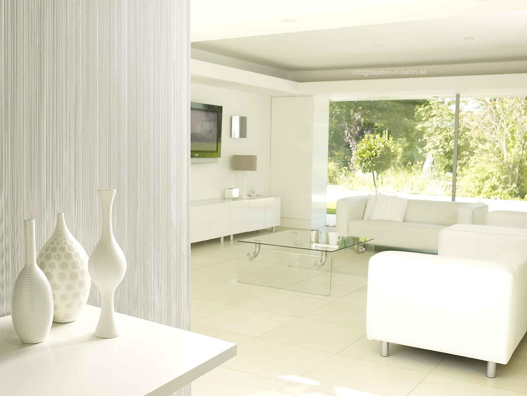 wohnzimmer tapeten weiß | Wohnzimmer Wände Streichen Ideen ...
