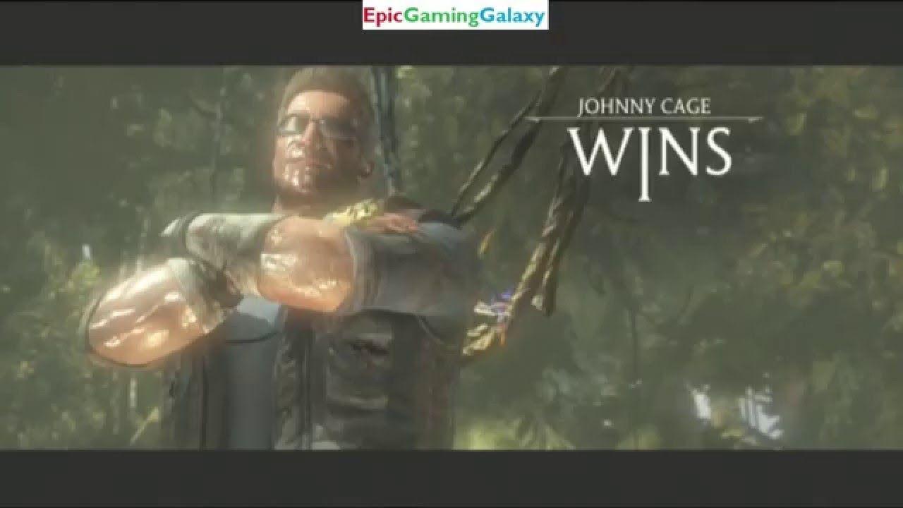 Johnny Cage Vs Scorpion The Ninja In A Mortal Kombat X Match