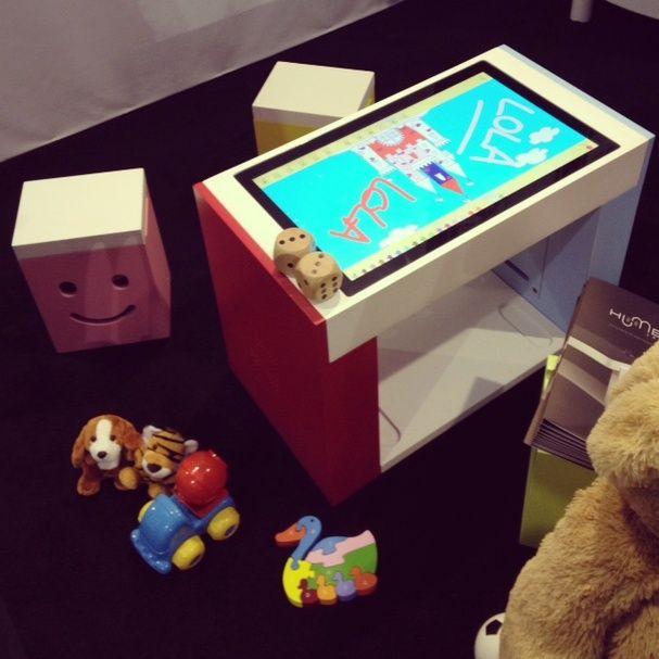 Une tablette géante pour enfants