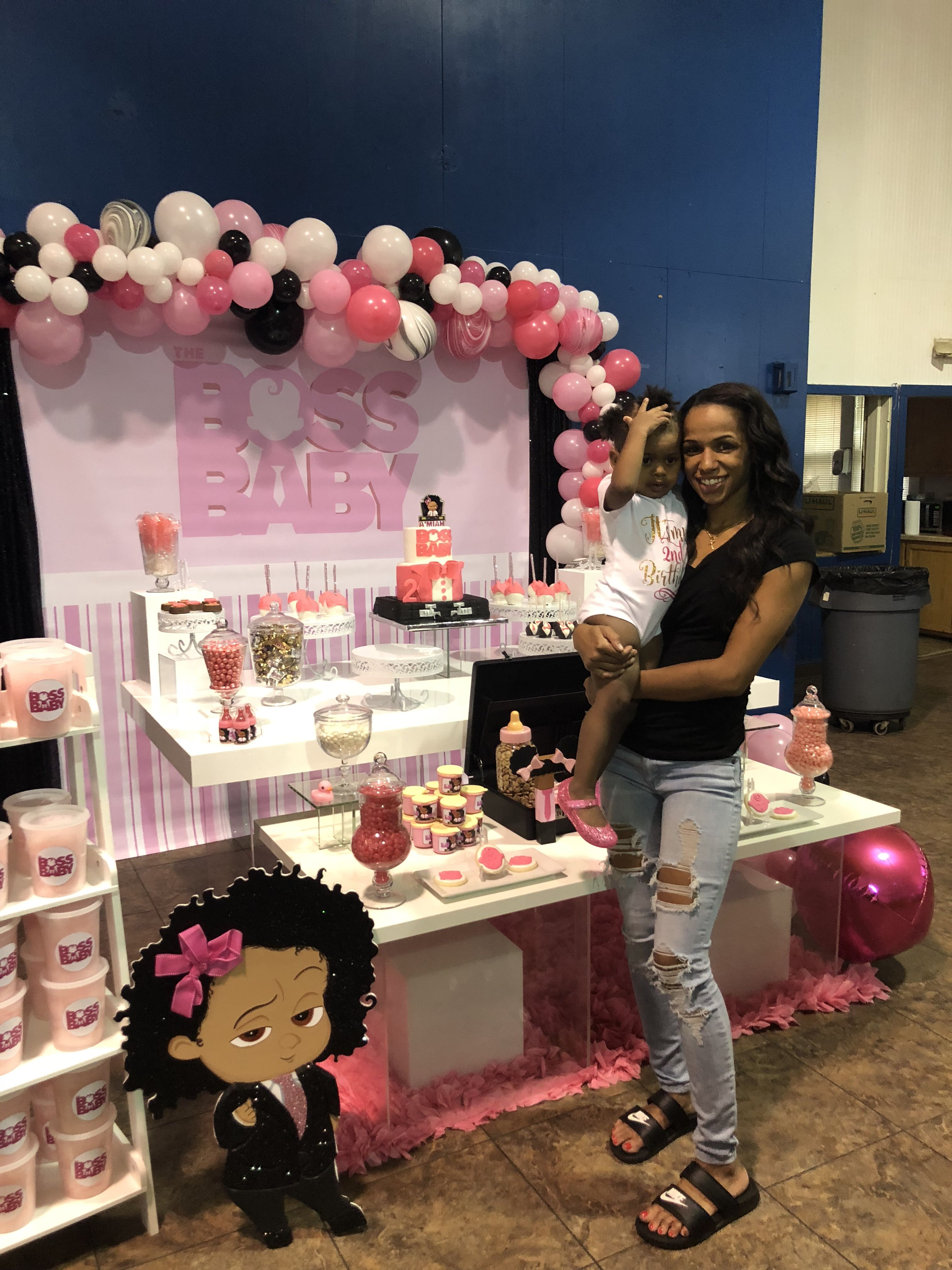 Pin by Partygalore on Boss Baby Girl Party Baby birthday