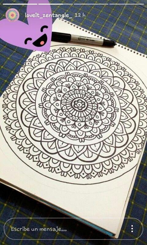 Pin de Ariane Naranjo en Mandalas   Pinterest   Mandalas, Dibujo y ...