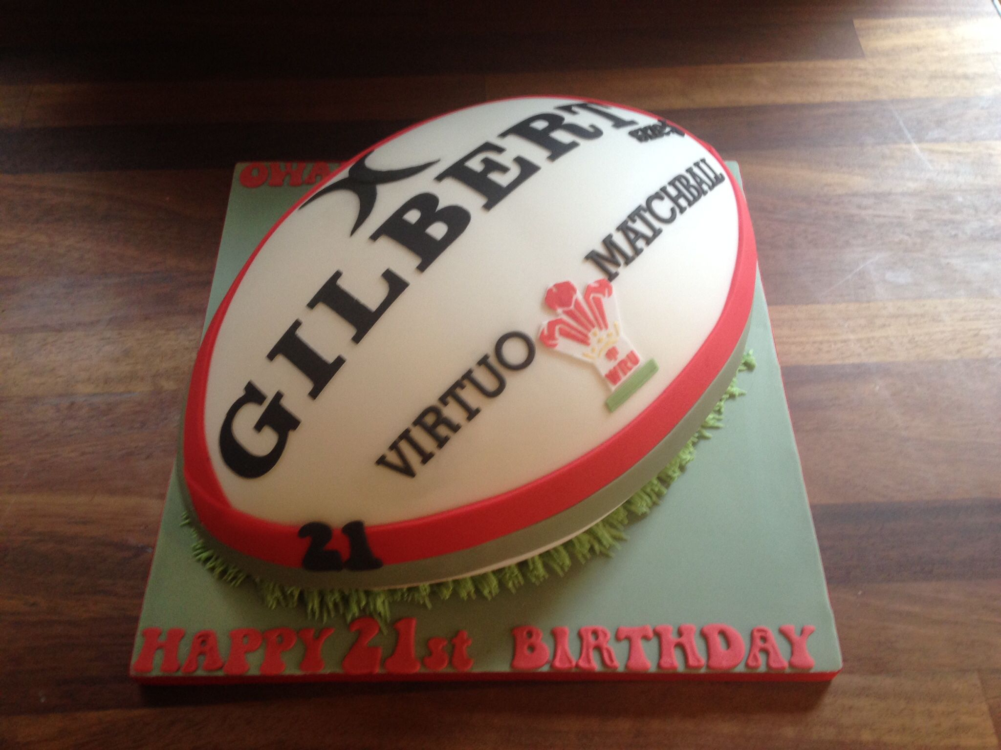 Welsh Rugby Wedding Cake Topper Ideas 27014