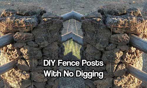 Diy Fence Posts With No Digging Diy Fence Diy Privacy