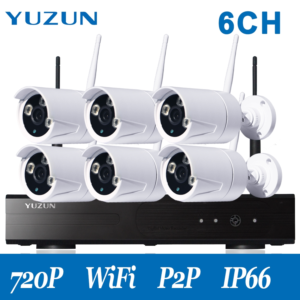 317.79$ Watch here - 720P home cctv kit outdoor wireless security ...