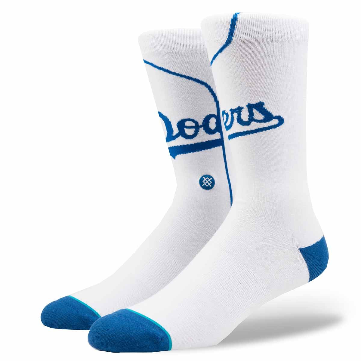 Grab this Stance Los Angeles Dodgers Home White Socks! Go