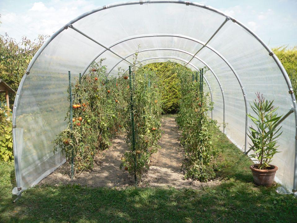 Abris De Culture Richel 24m Jardin En Carre Abri Jardinage