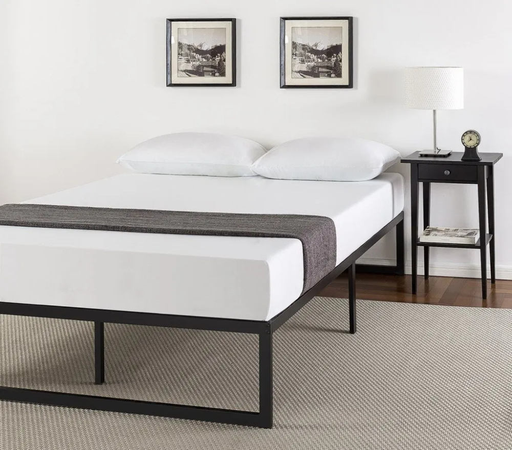 Advantages Of A Platform Bed Vs A Box Spring In 2020 Metal