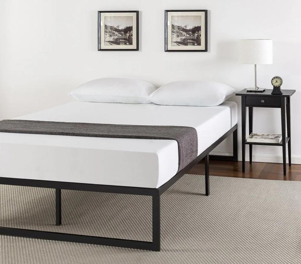 Advantages Of A Platform Bed Vs A Box Spring In 2020 Metal Platform Bed Bed Frame Mattress Bed Frame