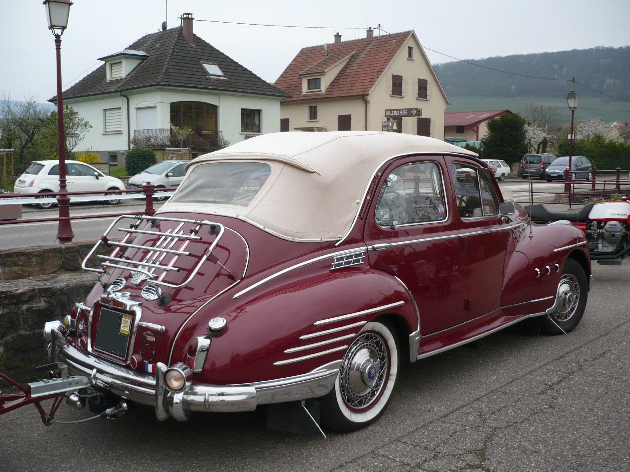 peugeot 203 berline d couvrable 1954 autres vehicules other vehicles. Black Bedroom Furniture Sets. Home Design Ideas