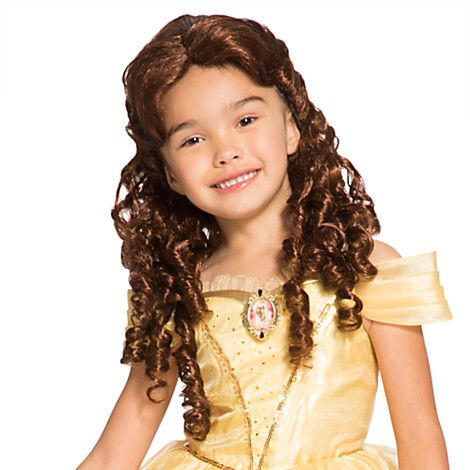 Belle Costume Wig for Kids | Disney Store