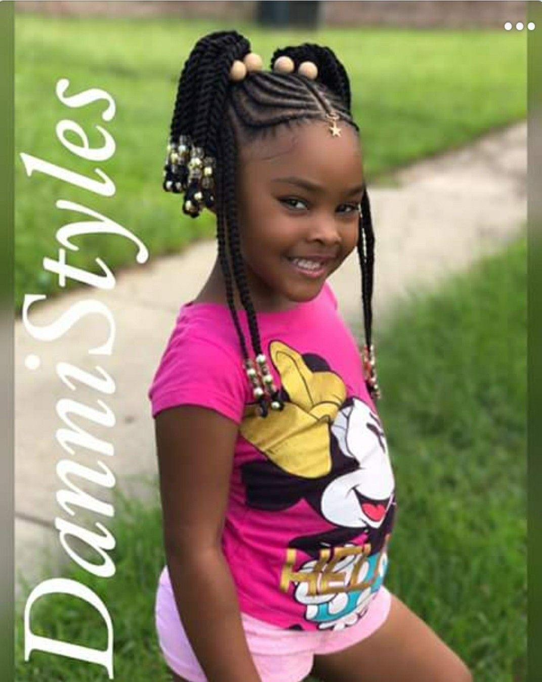 cute cornrows for a little girl. | natural hair & cornrows