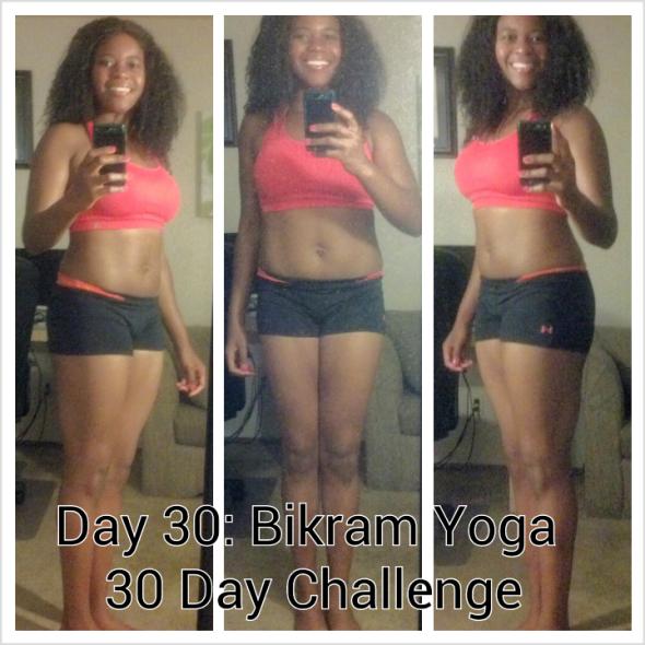 End Of 30 Day Bikram Yoga Challenge