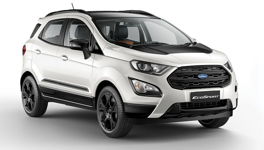 2019 Model Ford Ecosport Thunder Edition Launched Ford Ecosport
