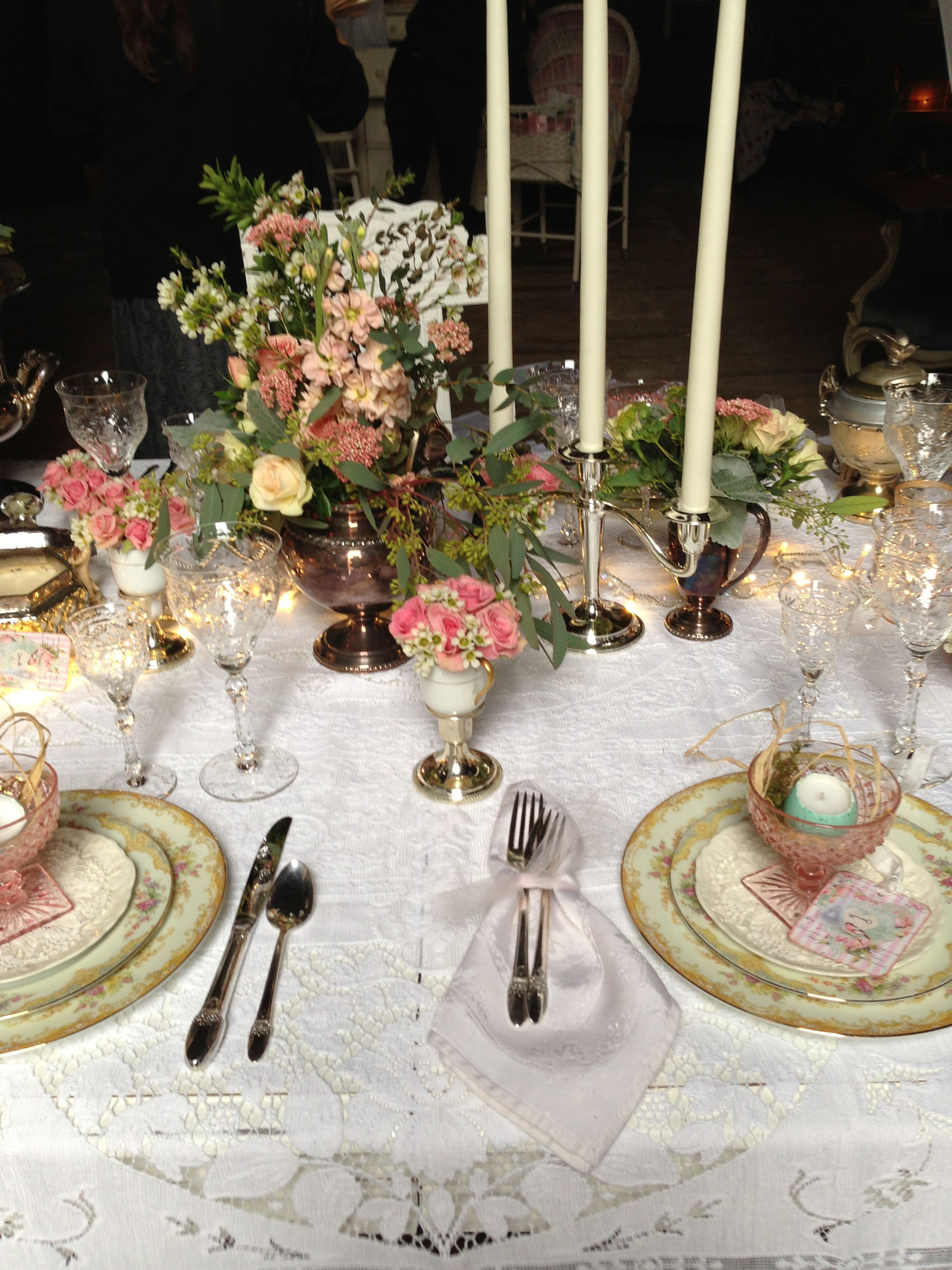 images of vintage table settings & Vintage table setting ... EVR | BE MY GUEST ... Board 100 ... WHAT\u0027S ...