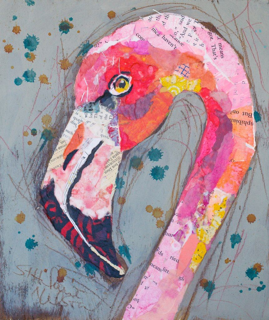 Flamingo Altered Art Projects