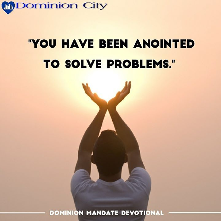 ANOINTED FOR A PURPOSE Dominion Mandate Devotional