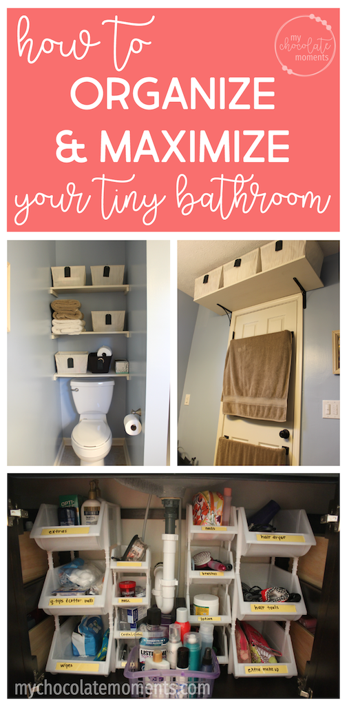 Master Bathroom Organizing Ideas: Master Bathroom Before & After (small Bathroom