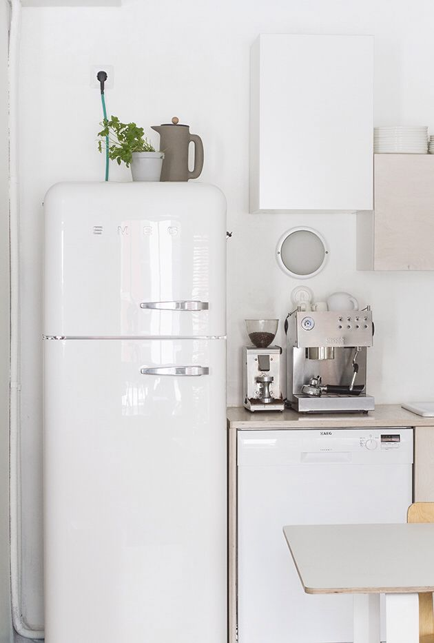 Love the fridge... My Scandinavian home blog