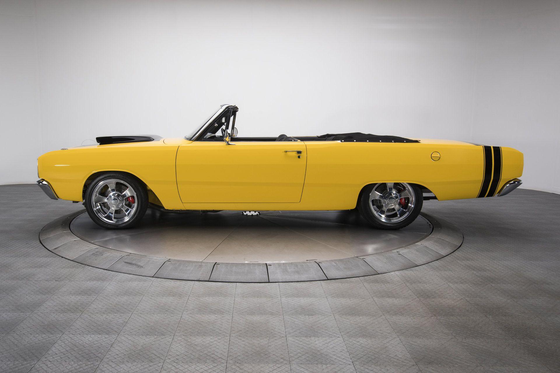 1968 Dodge Dart Ground Up Built Dart Convertible Restomod 610hp