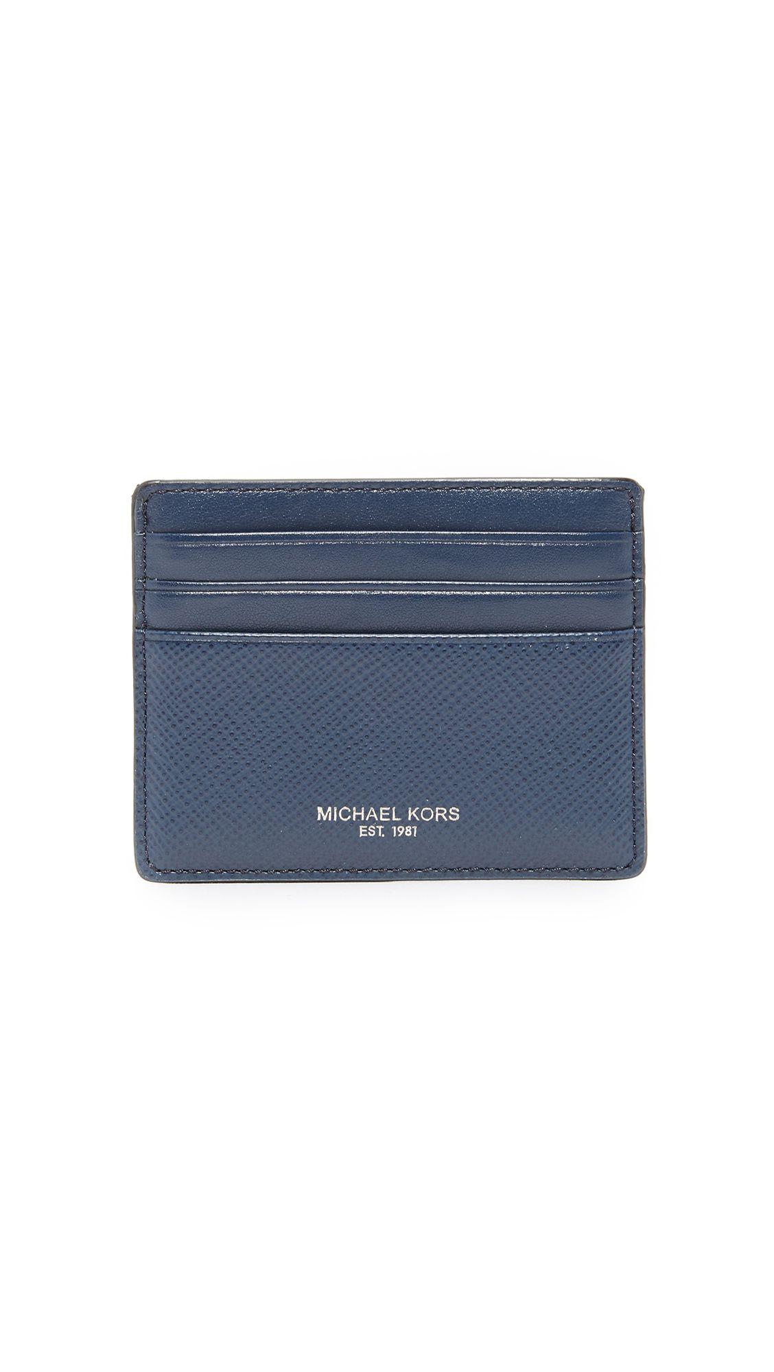 db1cf3d5c2d0 MICHAEL KORS Harrison Leather Card Case.  michaelkors  case