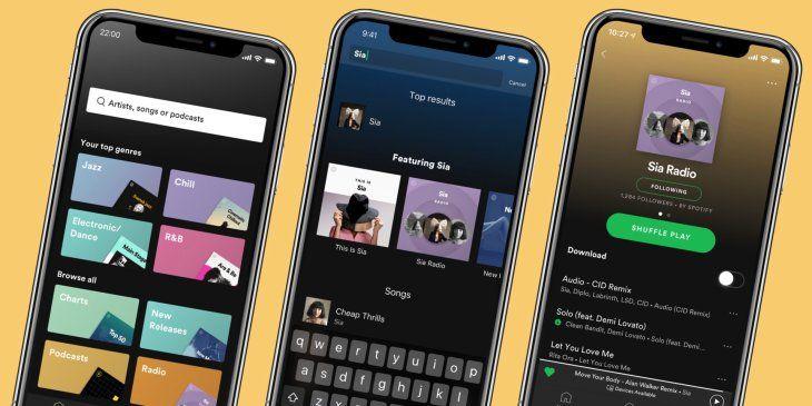 Spotify's Premium app gets a big makeover Podcast