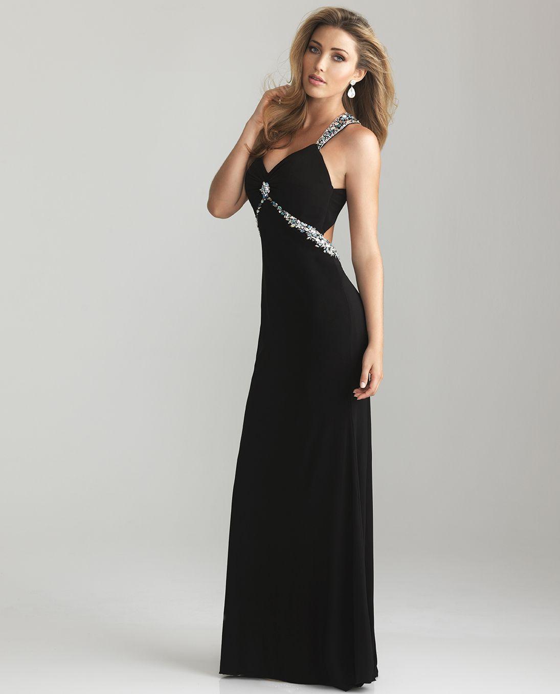 Unique Vintage Prom Dresses Chiffon Prom Dress Black Prom Dresses [ 1357 x 1095 Pixel ]