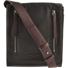 Special Offers Available Click Image Above: Bodhi Bags Flap Crossbody B1352090 (men's) - Black/deep Purple