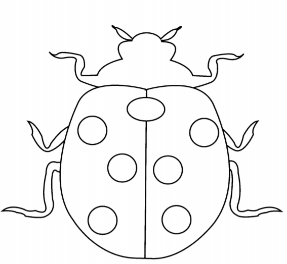 Coloring Pages For Toddlers Preschool 1 Download Pdf Free Ladybug Coloring Page Coloring Pages Free Printable Coloring