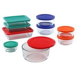 Pyrex 11 Cup Rectangular Storage Dish W Red Lid Glass Food Storage Food Storage Food Storage Containers