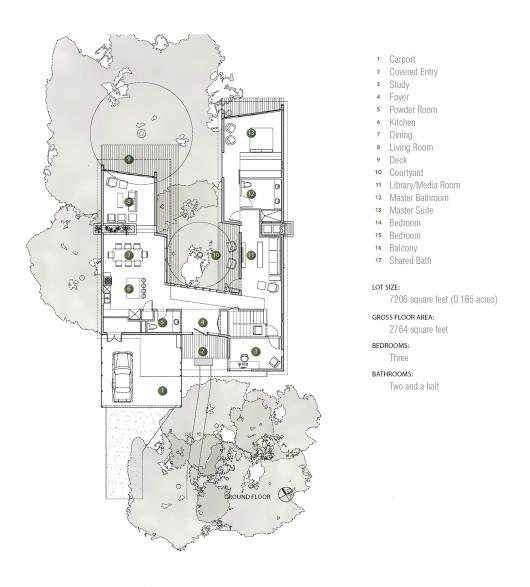 Tree House Matt Fajkus Architecture Architectural Floor Plans How To Plan Architecture Presentation