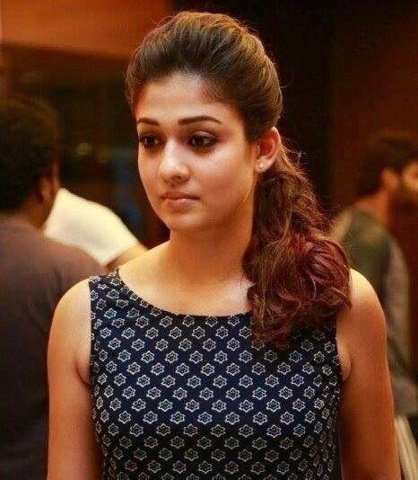 Nayandara  Awesome  Saree Hairstyles, Kalamkari Dresses -3462