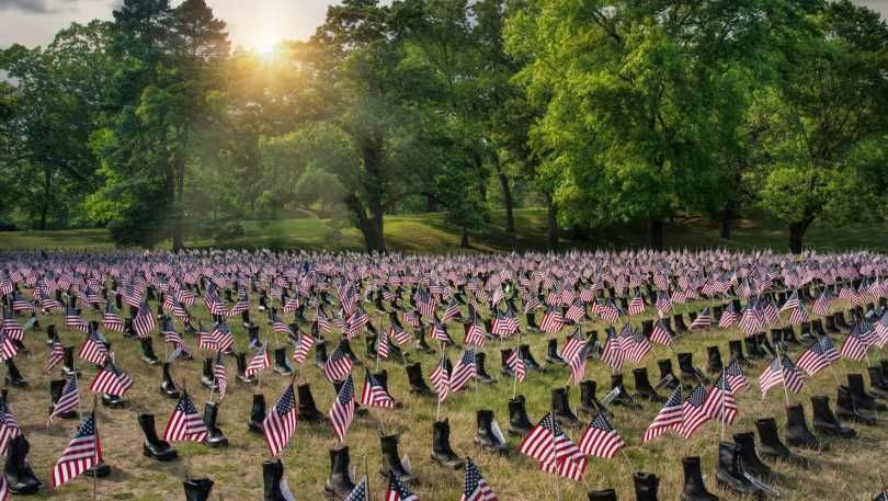Boots on the ground for heroes memorial memories hero