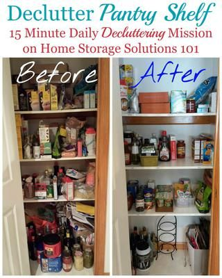 How To Declutter Pantry Food Cupboards Home Storage Solutions Declutter Cupboards Organization