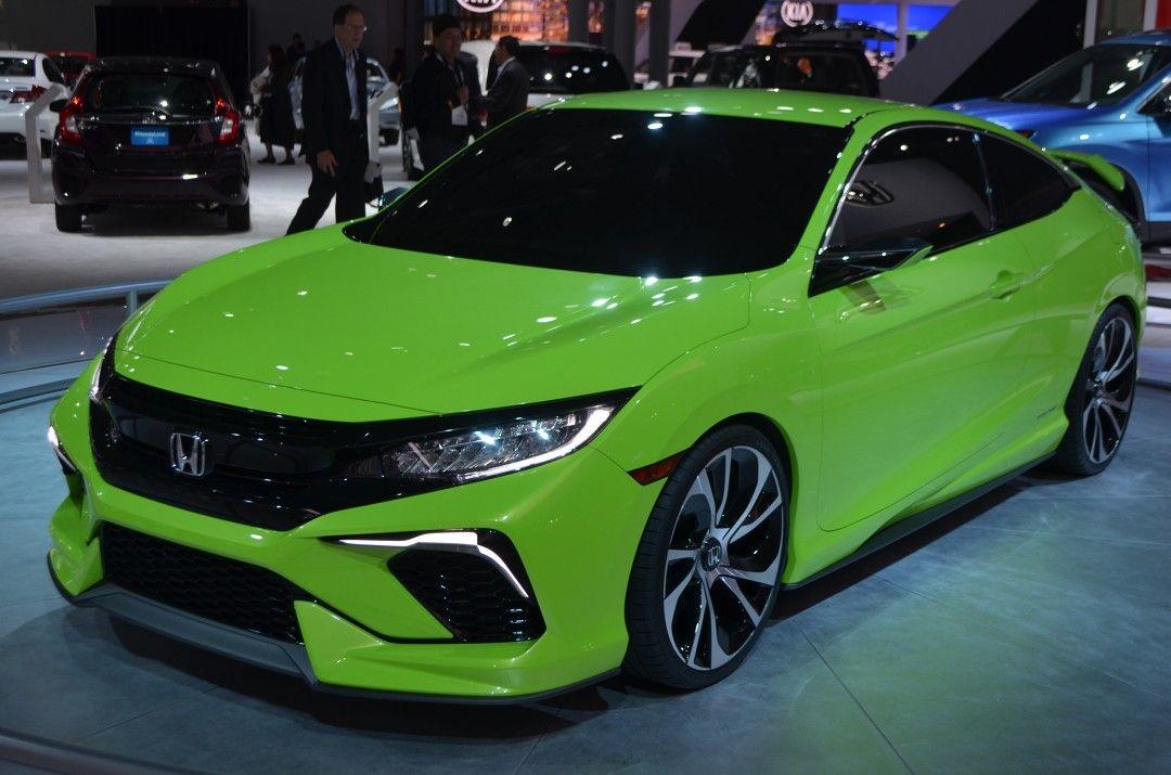 Green Honda Civic Si 202 Honda Civic Si Honda Civic Honda Civic Coupe