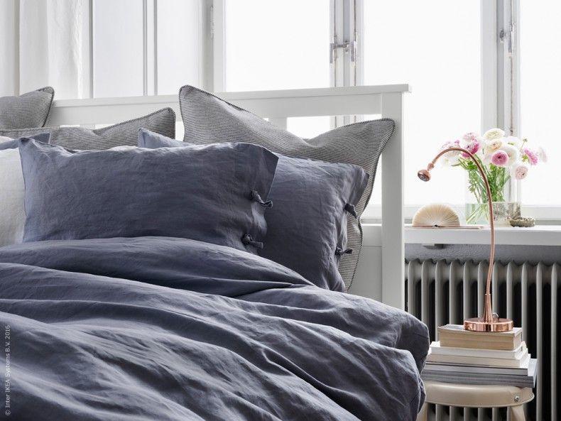 Schlafzimmer Len Ikea ikea livet hemma linblomma sängkläder 100 linne jansjö led