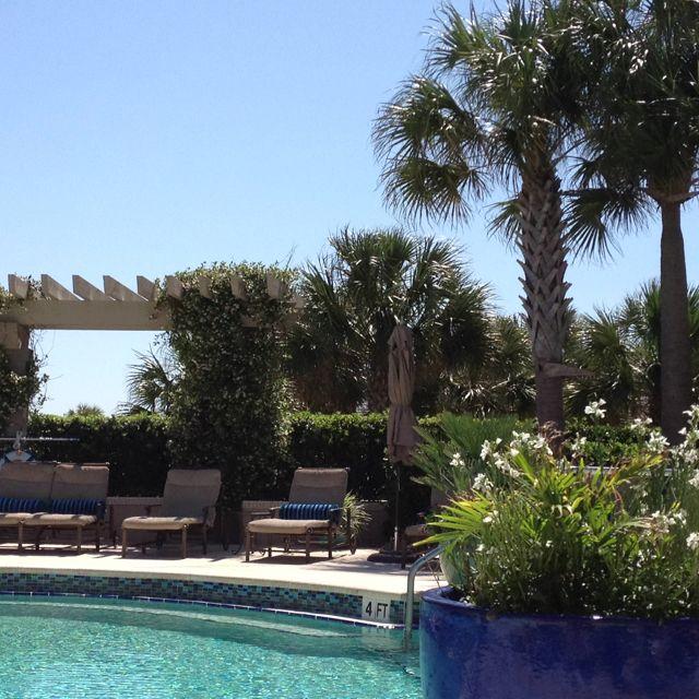 Spa pool at Ritz Carlton in Amelia Island.... Need I say more??