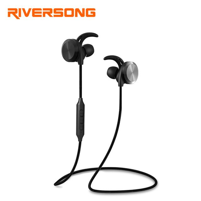 Riversong Sport Bluetooth Earphone Ipx5 Waterproof Bt4 1 With Music Mic Control Wireless Headset For Huawei Iphone Samsun Earphone Bluetooth Earphones Earbuds