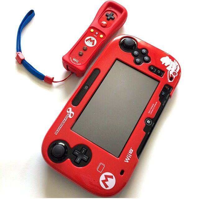 Mario Wii U Remote Plus Mario Kart 8 Wii U GamePad ...
