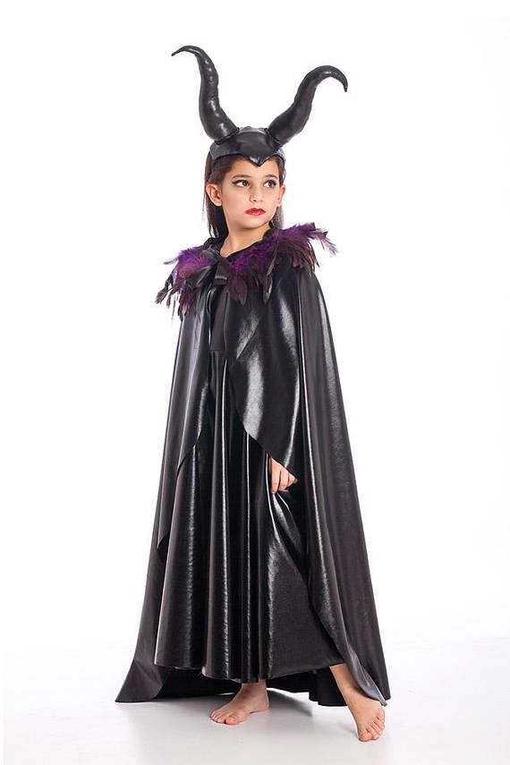 maleficent cape halloween costumes kids costumes girls halloween costume maleficent costume