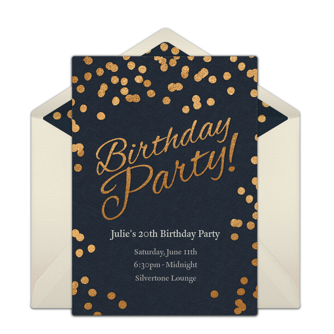 Birthday party dots invitations dots online birthday celebrations birthday party dots invitations filmwisefo