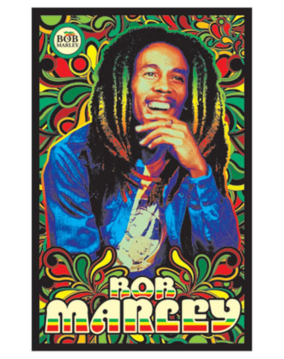 bob marley rasta blacklight poster you can find all your smoking accessories right here on
